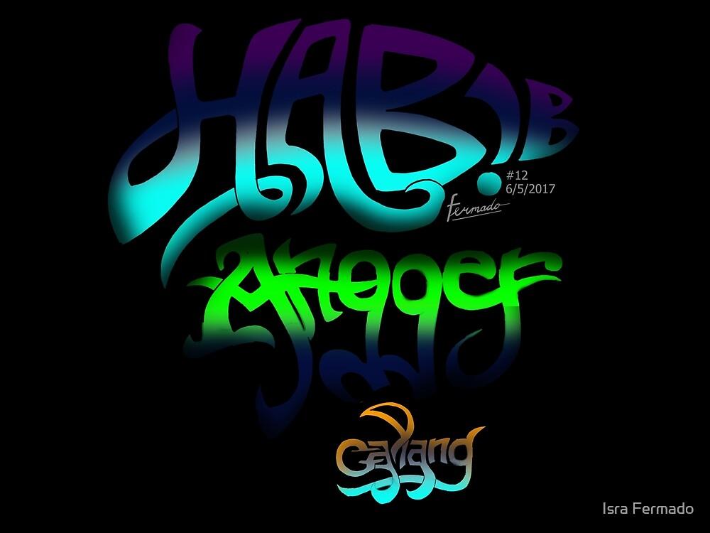 3 serangkai lettering by Fermado