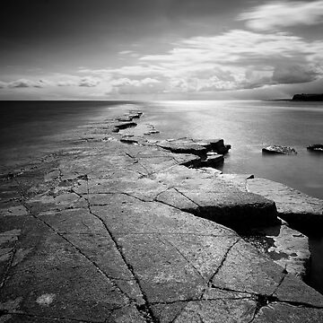 Gathering Storm at Kimmeridge by PeterVines