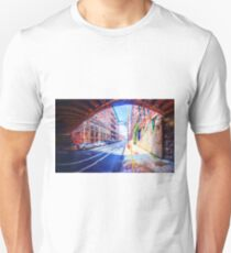 Panorama 2296: 13th Street under Noble Street Unisex T-Shirt