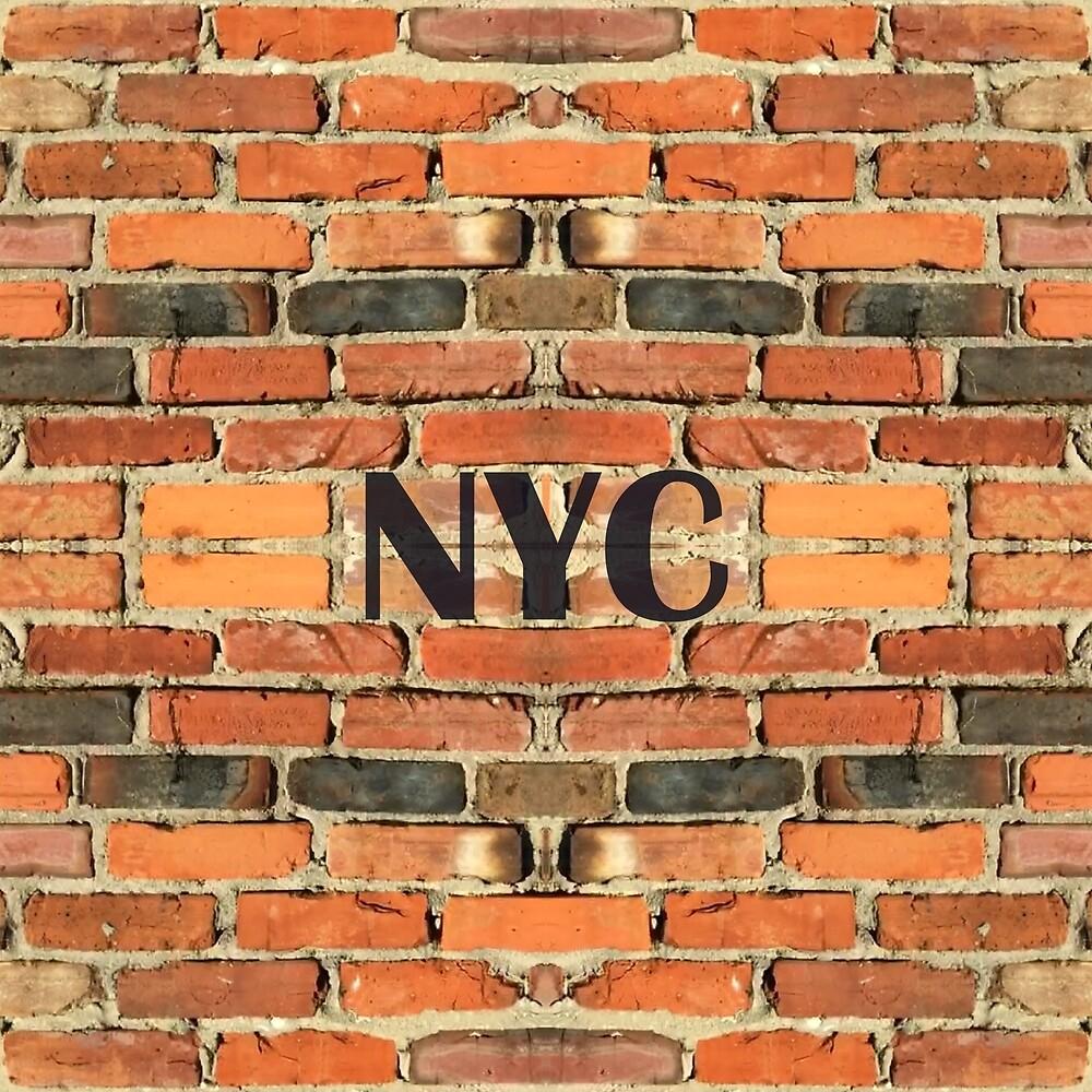 NYC Brickwall by ATJones