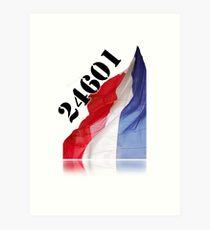 Lámina artística Les Miserables 24601