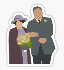 DA: Chelsie wedding Sticker
