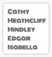 edgar linton gifts merchandise redbubble wuthering heights character s sticker