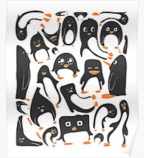 Penguin Party Poster