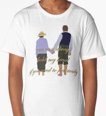 DA: Chelsie by the beach + quote Long T-Shirt