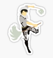 Levi Inspired Anime Shirt Sticker