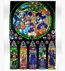 Dragon Ball Glass  Poster