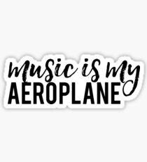 Aeroplane - RHCP Sticker