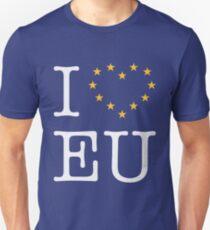 I Love EU (Europe) T-Shirt