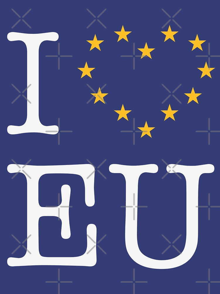 I Love EU (Europe) by MrFaulbaum
