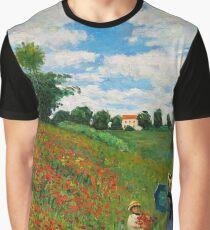 Landscape by Monet Graphic T-Shirt