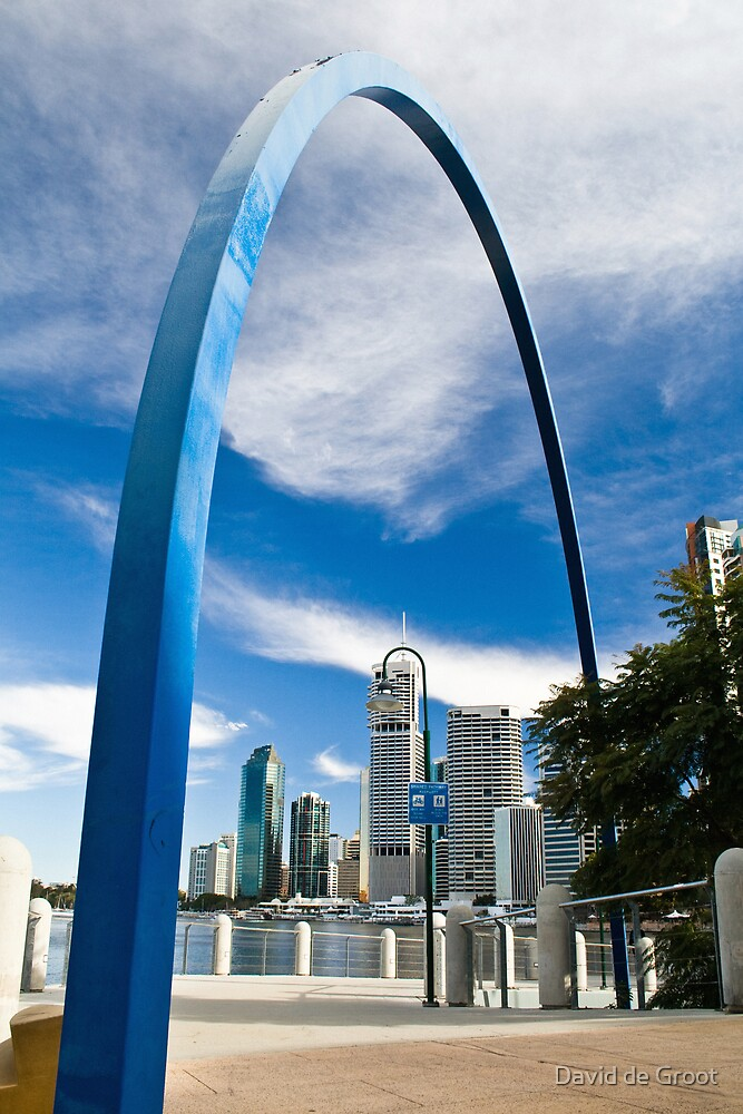 Blue Arch by David de Groot