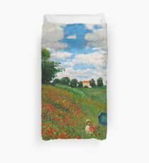 Landscape by Monet Duvet Cover