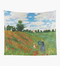 Landscape by Monet Wall Tapestry