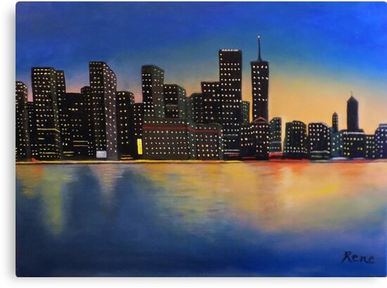 City Lights by Irene Bernhardt
