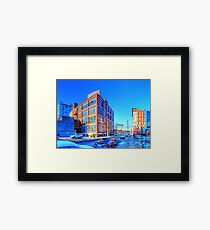 Panorama 2444: 11th and Pearl Streets Framed Print