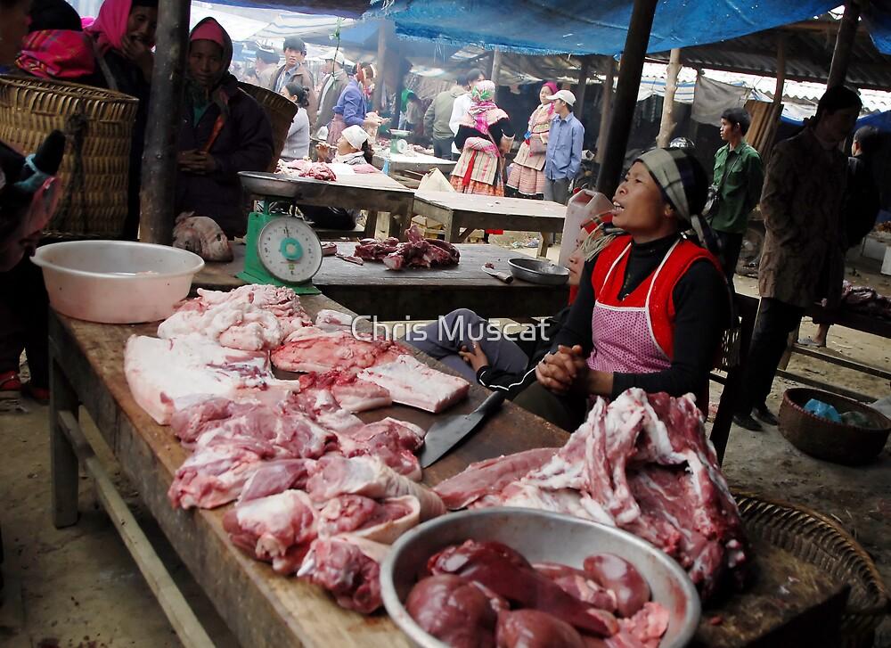 Bac Ha Market by Chris Muscat