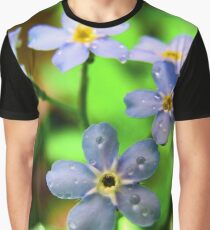 Forget-Me-Nots Graphic T-Shirt
