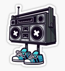 Boom Box! Sticker
