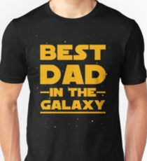 Father's Day - Best Dad in the Galaxy - Birthday Gift T-Shirt