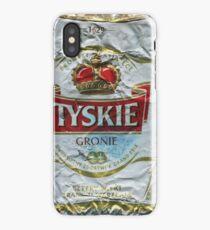 Tyskie - Crushed Tin iPhone Case