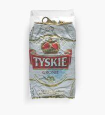 Tyskie - Crushed Tin Duvet Cover