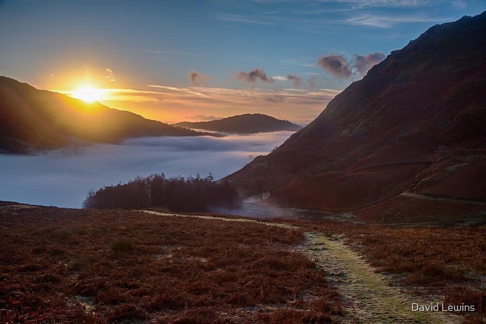 Sunrise Helmside by David Lewins