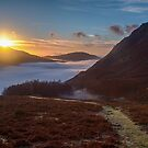 Sunrise Helmside by David Lewins