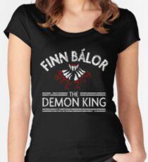 Finn the Demon King (White) Women's Fitted Scoop T-Shirt