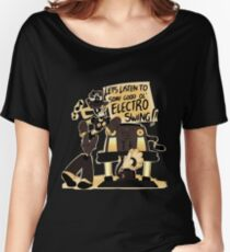 Electro Swing Women's Relaxed Fit T-Shirt