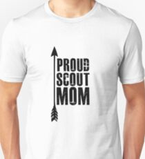Proud Scout Mom - Parent Mother of Boy Girl Club Unisex T-Shirt