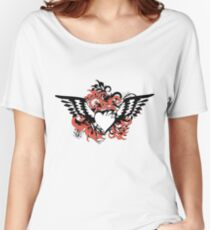 heart&wings Women's Relaxed Fit T-Shirt