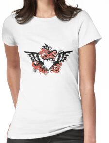 heart&wings Womens Fitted T-Shirt