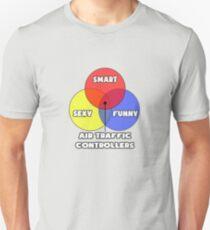 Venn Diagram ... Air Traffic Controller Humor Unisex T-Shirt