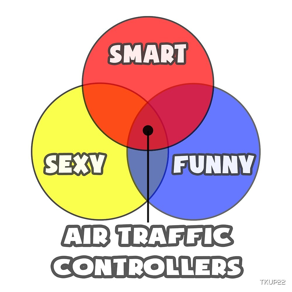 Venn Diagram ... Air Traffic Controller Humor by TKUP22