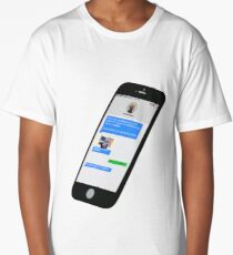 Addicted to Phone Long T-Shirt