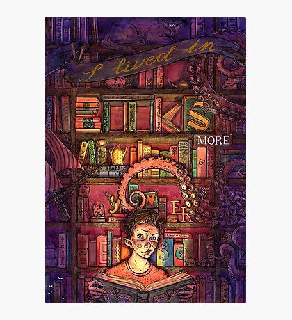Book Boy Photographic Print