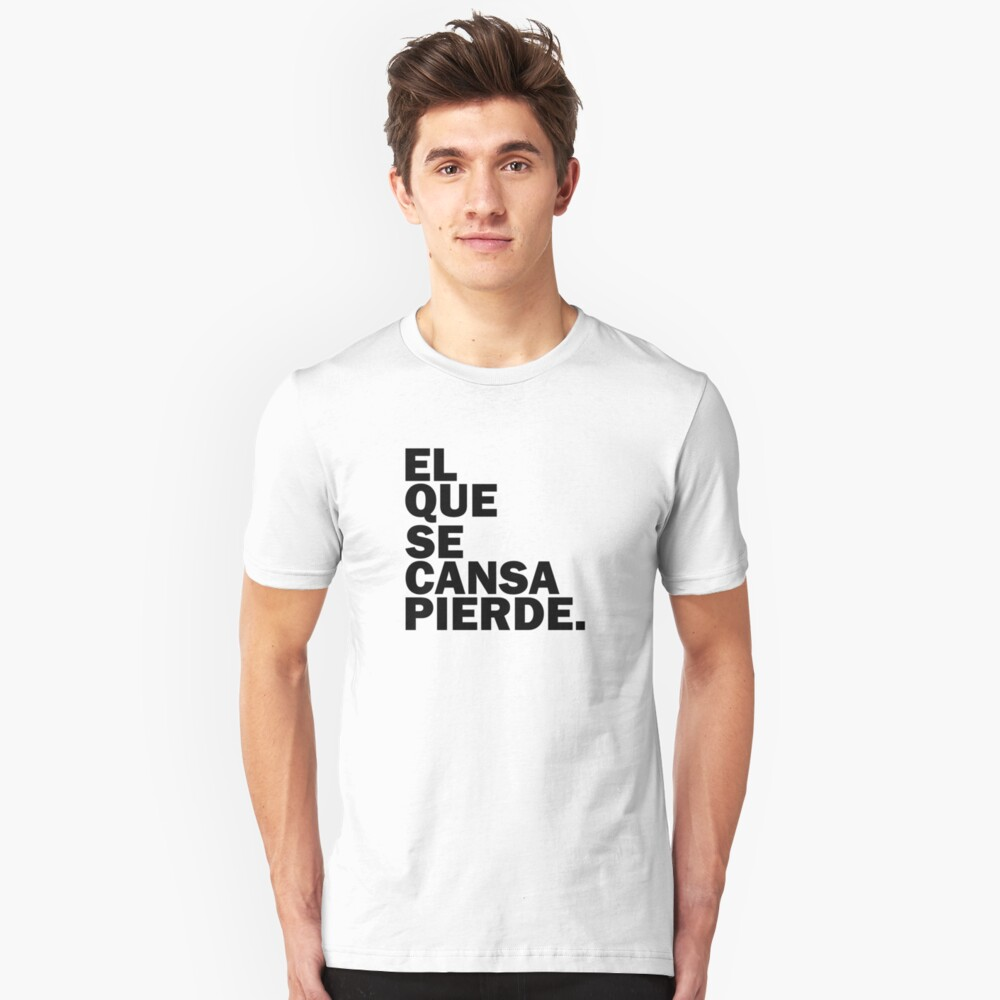 THE ONE THAT CANSA LOSES - LEOPOLDO LOPEZ Unisex T-Shirt Front