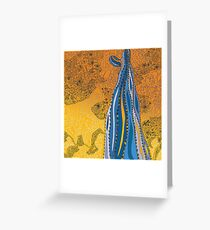 Life In Balance Saguaro - A Tucson Portrait Greeting Card