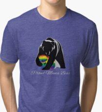 Proud Mama Bear Tri-blend T-Shirt