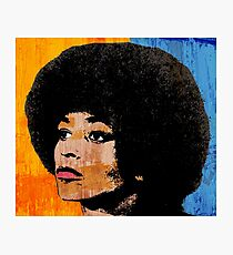 ANGELA DAVIS (COLOR) Photographic Print