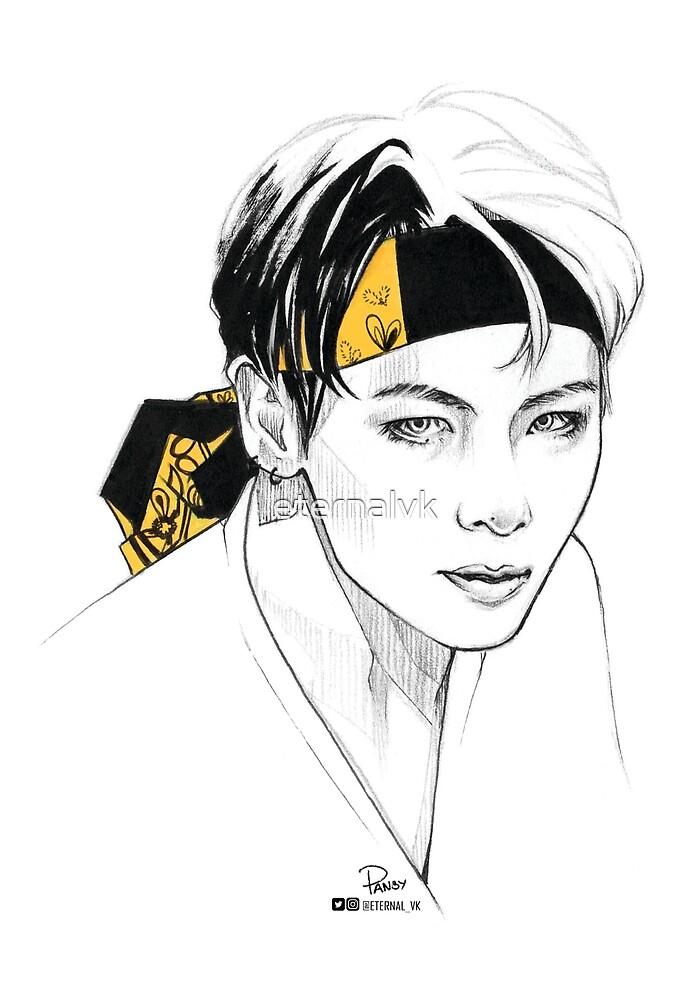 Yellow Bandana Tae by eternalvk
