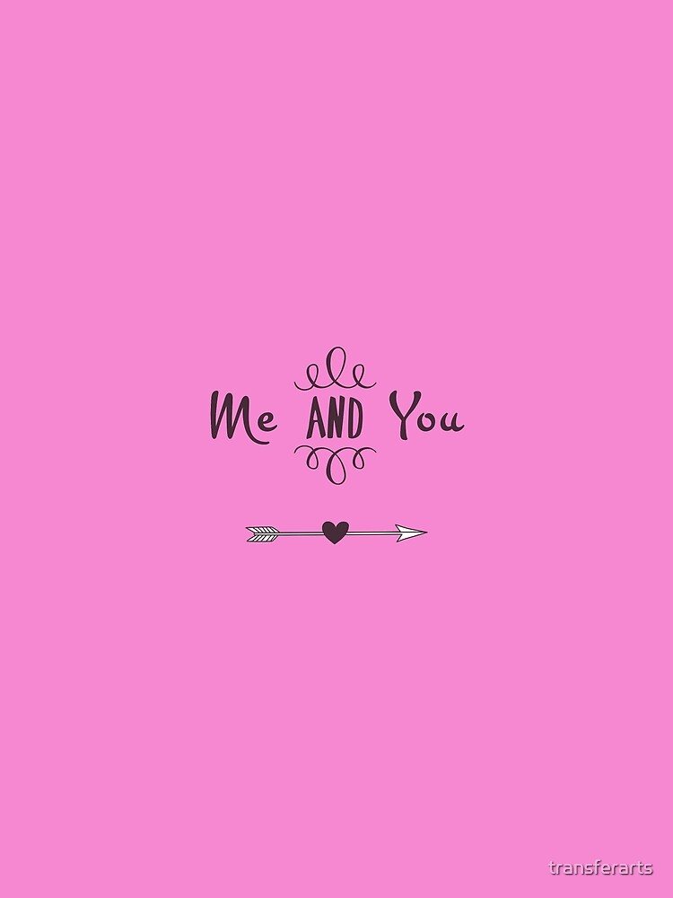 Me and You Bride and Groom Wedding Design by transferarts