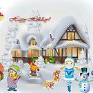 Happy Holidays by Ana Belaj