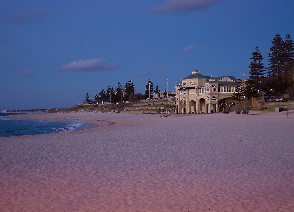 Cottesloe Beach At Dusk by Sue Martin