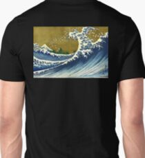 HOKUSAI, A Coloured Version Of, The Big Wave, Japan, Japanese Unisex T-Shirt