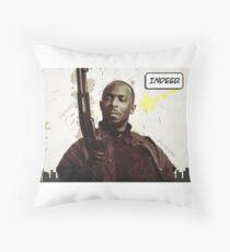 Omar's Comin' Yo! Throw Pillow