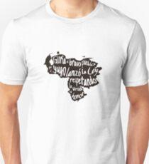 Venezuela - Gloria al bravo pueblo Unisex T-Shirt