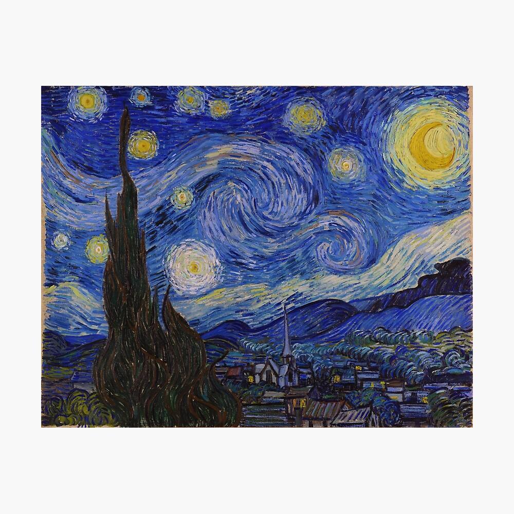 Die sternenklare Nacht von Vincent van Gogh (1889) Fotodruck