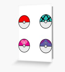 Collect them all Greeting Card